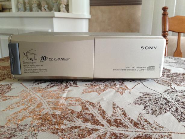 Sony Car CD Changer