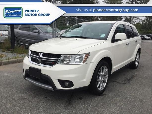 2014 Dodge Journey R/T  - Leather Seats -  Bluetooth - $149.84 B/W