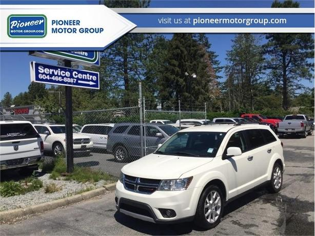 2013 Dodge Journey R/T  - Leather Seats -  Bluetooth - $148.47 B/W