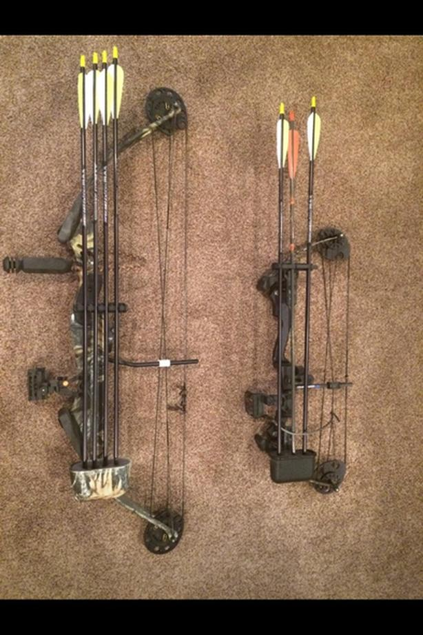 2 Compound Bows