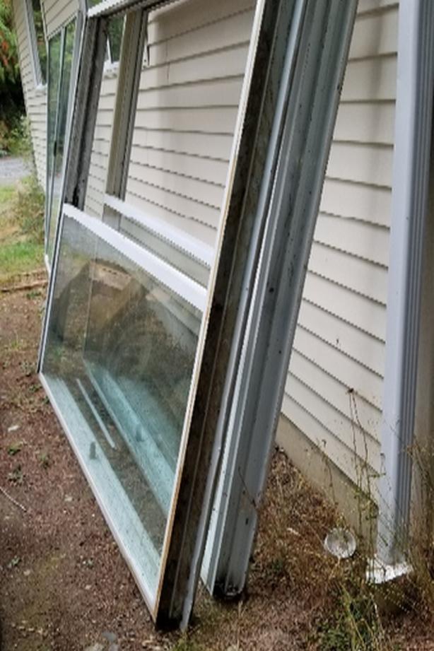 Double Pane Sliding Glass Doors Shawnigan Lake Cowichan