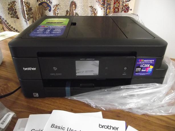 BROTHER MULTIFUNCTION SCANNER & FAX MACHINE