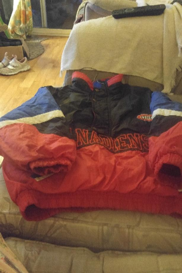 kids Montreal Canadiens coat