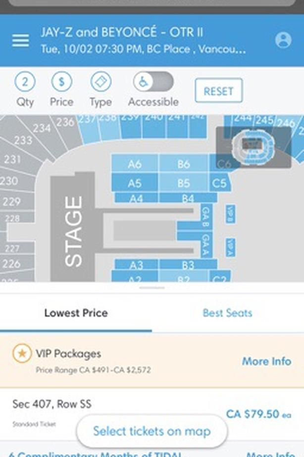 Beyonce & Jay Z tickets PRICE DROP