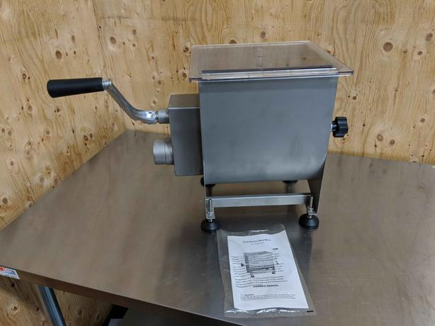 NEW Butcher Supplies - Meat Mixer, Paper Cutters, Knives, Case Liner