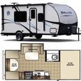 2015 Palomino Real Lite 17BS Trailer