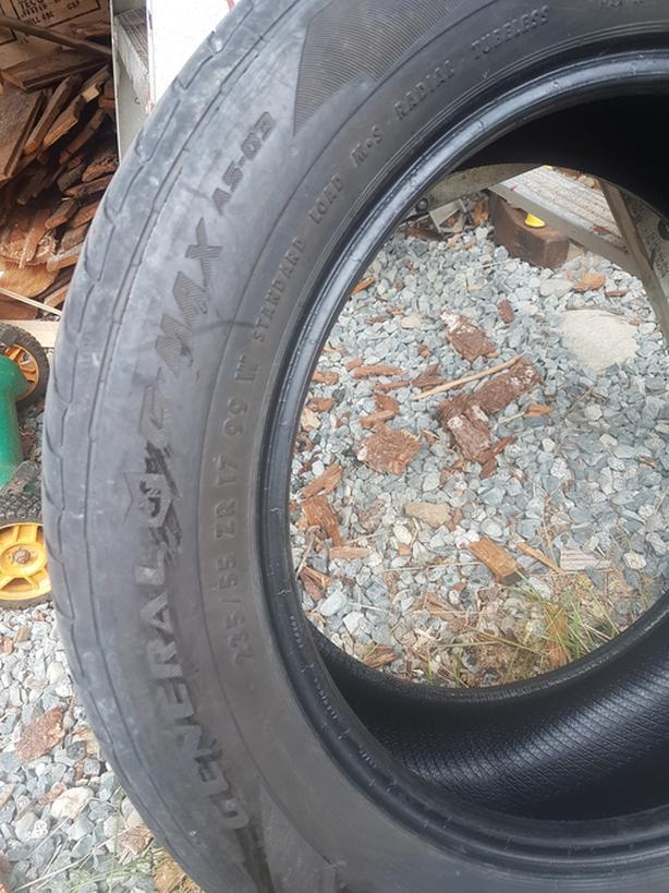 General gmax as 03  all season tires