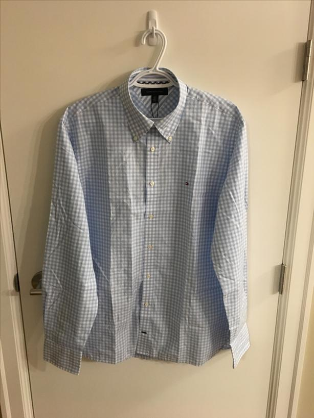 Tommy Hilfiger Long sleeve casual dress shirt Size Large