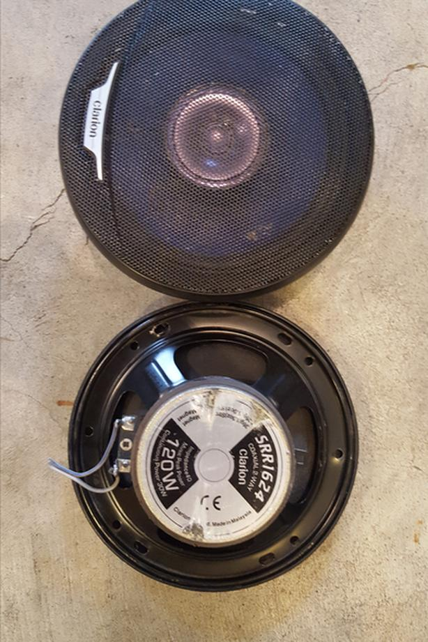 "Clarion 6.5"" 2-Way Speakers"