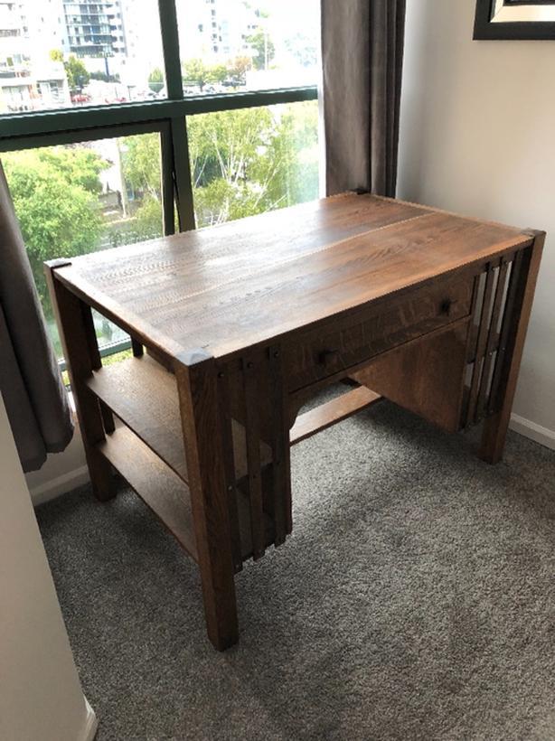 Antique Partners Desk Macbook Pro Desk Stand