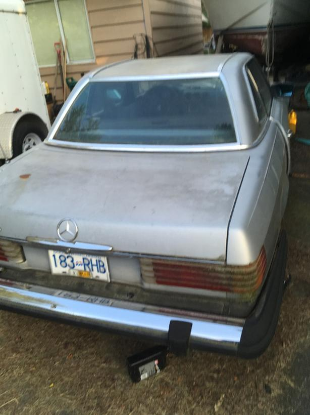 1979 Mercedes 450SL Parts or Fix