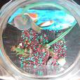 Vintage heavy glass Fish Bowl / Terrarium