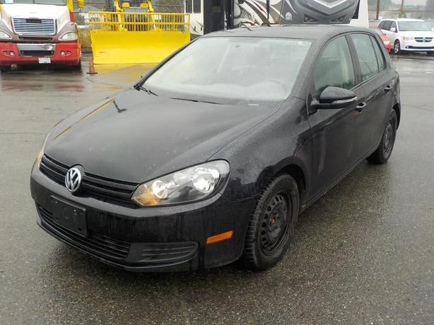 2012 Volkswagen Golf 2.5L 4-Door