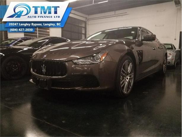 2014 Maserati Ghibli S Q4  - $325.72 B/W - Low Mileage