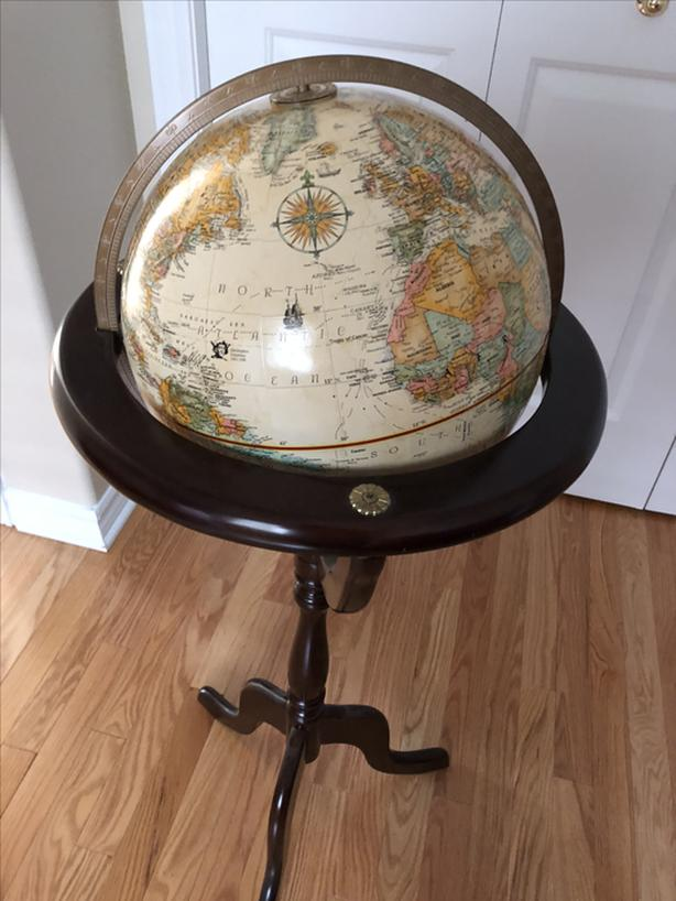 Bombay Company Globe and Stand