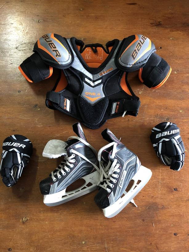 Bauer Junior Hockey Pkg