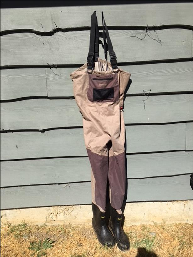 Snowbee  Chest waders -Size 7 and Size 11-Used once $150/each