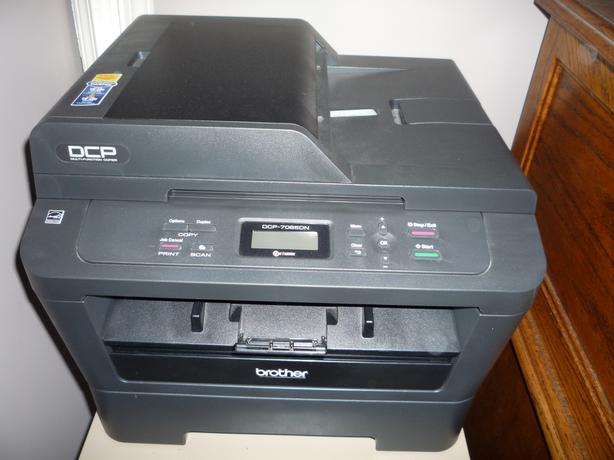Brother DCP-7065DN Mono Laser Printer/Scanner