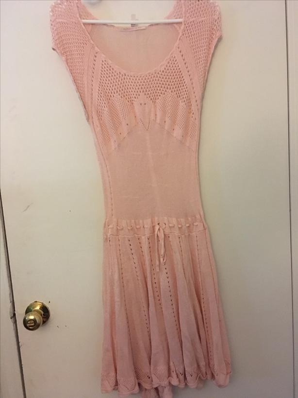 Pink Victoria Secret slip dress