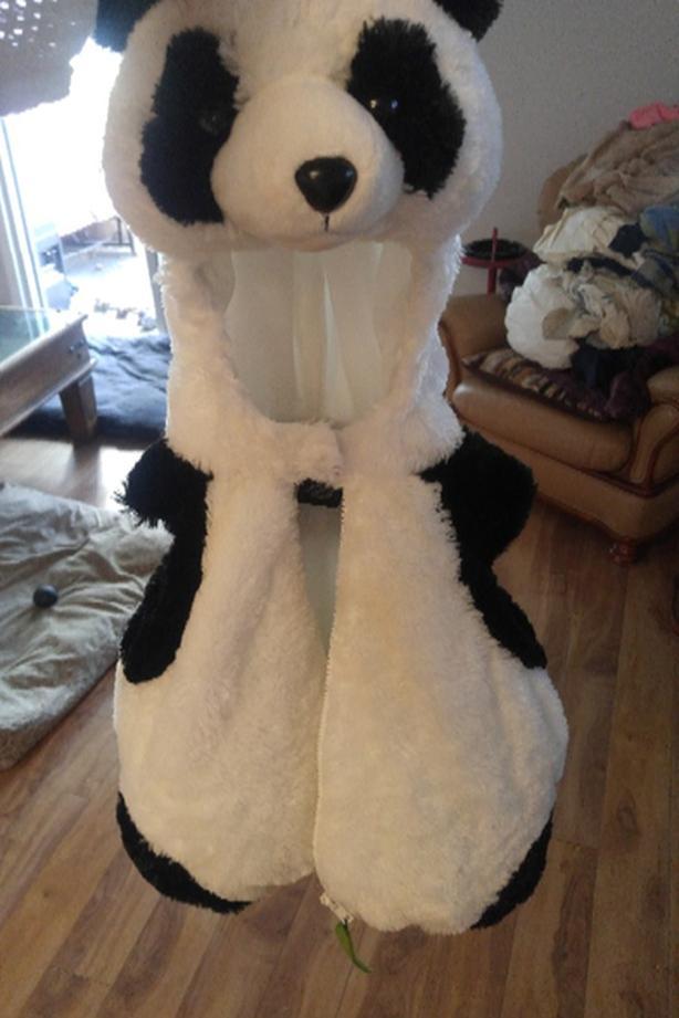 panda costume 12 months