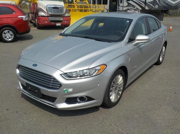 2014 Ford Fusion Energi Titanium Hybrid