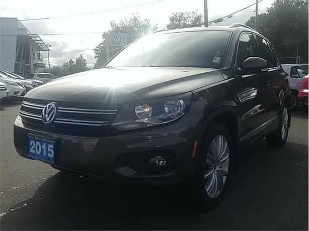 2015 Volkswagen Tiguan 2.0T Highline 4MOTION