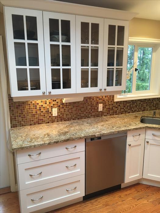 Custom White Shaker Cabinets Amp Granite Counters North