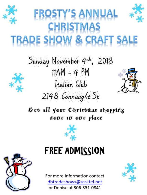 Frostys Annual Trade Show & Craft Sale