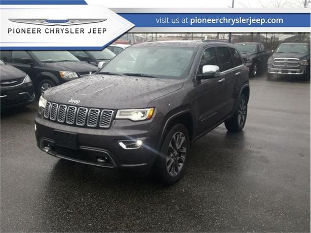 2017 Jeep Grand Cherokee Overland  - Navigation -  Leather Seats