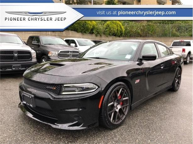 2016 Dodge Charger R/T Scat Pack  392 6.4L -Brembo Brake -Red Leather Seats