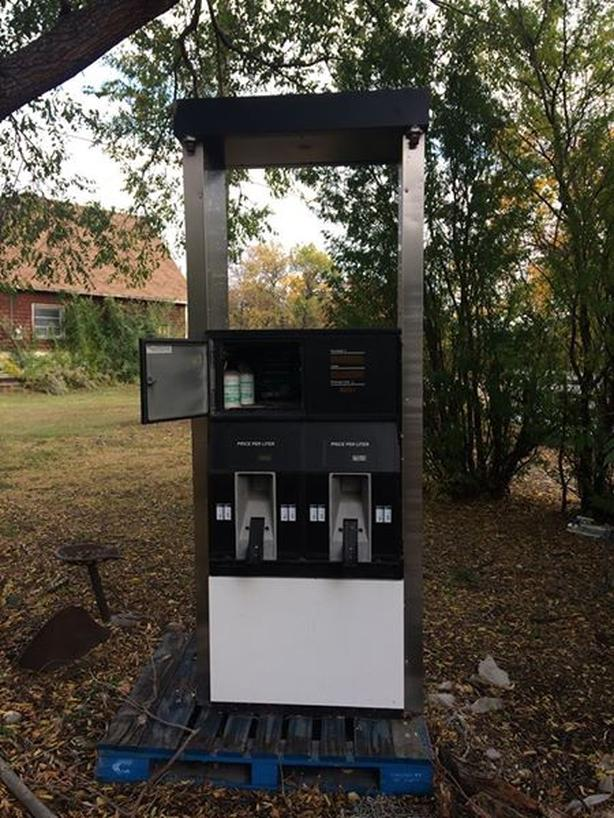 Refurbished GILBARCO Dual Fuel Dispenser