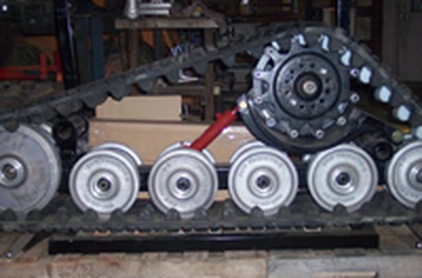 Wanted: Bogie Wheels undercarriage for CAT 247B skidsteer