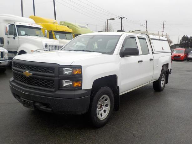 2015 Chevrolet Silverado 1500 Double Cab Regular Box 4WD Canopy