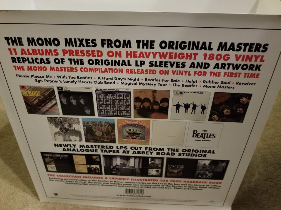 $640 · Beatles Vinyl LP Box Sex - Brand New! Excellent Gift!