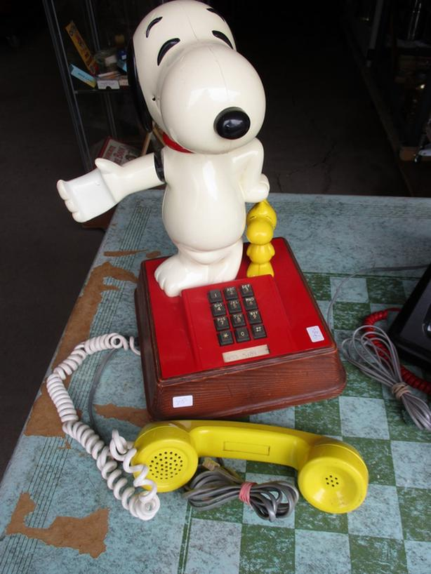 SNOOPY AND MICKY MOUSE PHONES FROM GRAMAS ESTATE