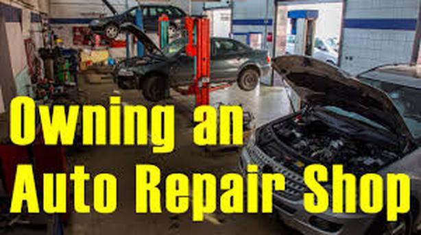 Automotive repair shop, Victoria BC