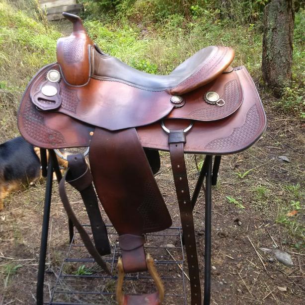 """16"""" Equiflex Western Saddle"""