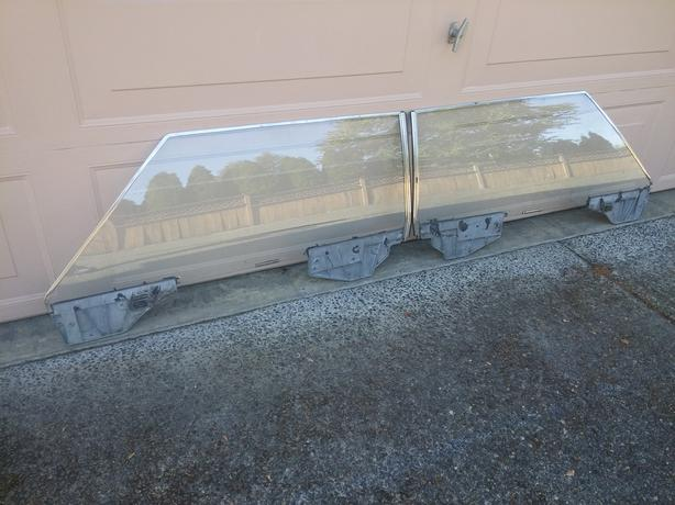 1967 1968 FORD THUNDERBIRD DOOR & REAR WINDOW GLASS
