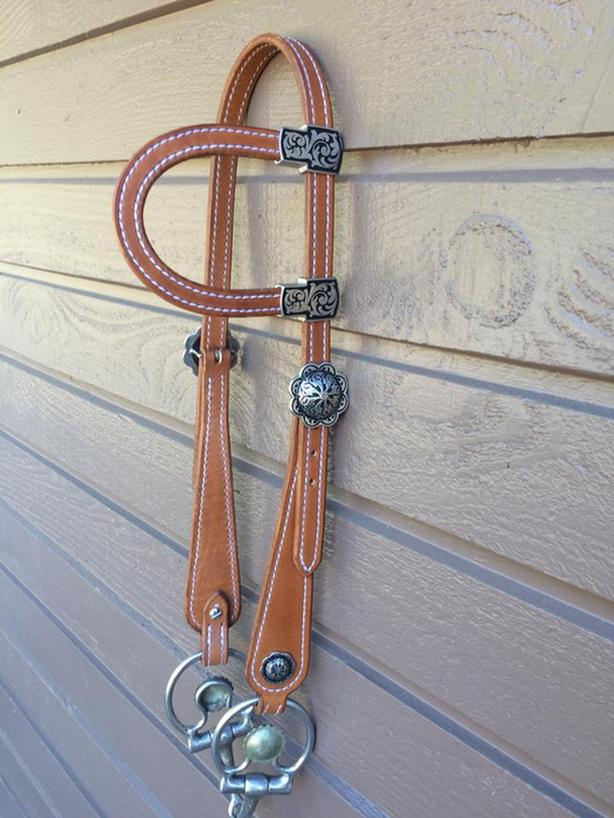 LTH Leatherworks Custom Bridles