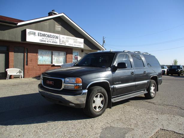 2006 GMC Yukon XL  4 wheel drive,  7 Passenger