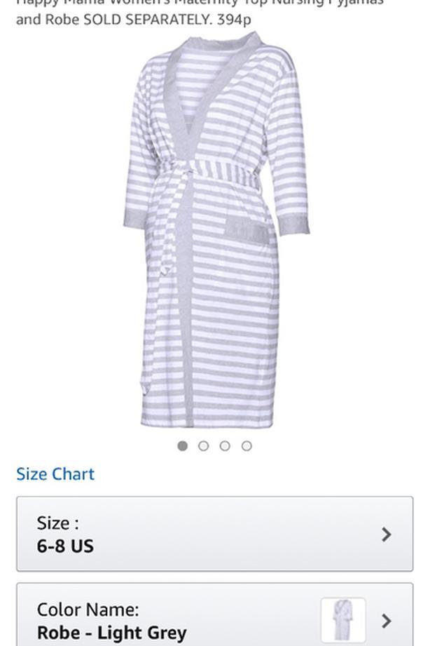 034a14aba767 Maternity Robe