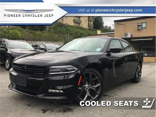 2017 Dodge Charger R/T  -Leather Vent Heat Seats -Sunroof