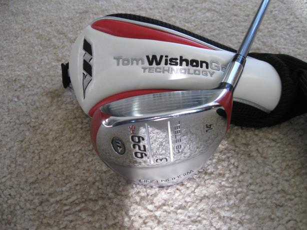 TOM WISHON 14 DEGREE 3 FAIRWAY WOOD ,WITH GRAPHITE REGULAR SHAFT