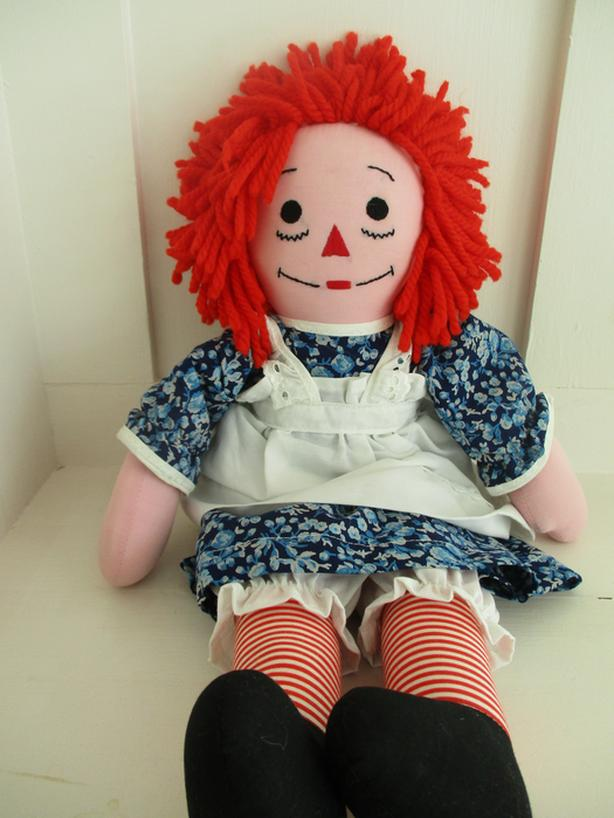 New Raggedy Ann Handmade Custom Doll
