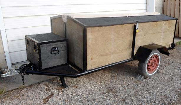 ENCLOSED UTILITY / CARGO TRAILER