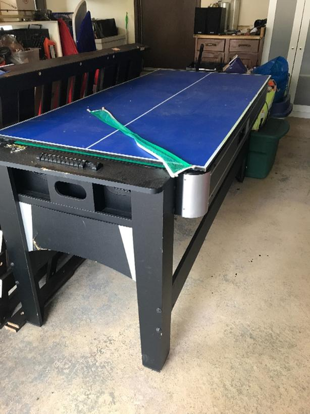 3 In One Games Table