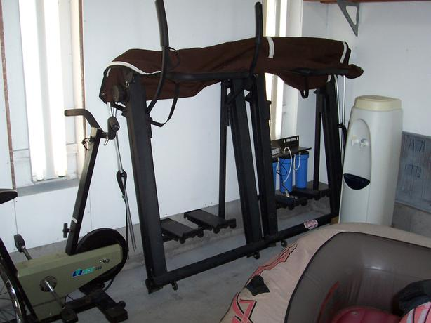 Cross-Country Skiing workout machine