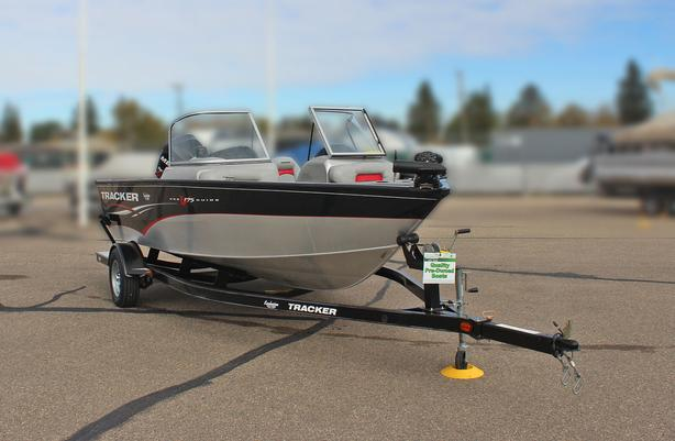 2011 Tracker ProGuide V175 CB w/Mercury 115 Hp Optimax