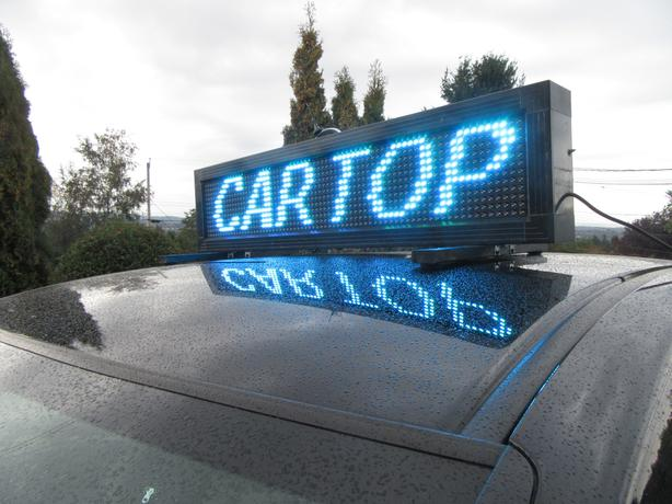 Portable Programmable LED sign
