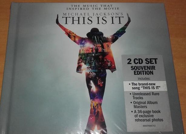 Michael Jackson's This is it - 2 cd set souvenir edition (New).